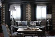 Фото 23 Черный потолок в квартире: 80 нестандартных и стильных реализаций
