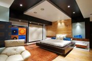 Фото 28 Черный потолок в квартире: 80 нестандартных и стильных реализаций