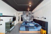 Фото 30 Черный потолок в квартире: 80 нестандартных и стильных реализаций