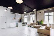Фото 31 Черный потолок в квартире: 80 нестандартных и стильных реализаций