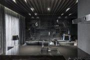 Фото 8 Черный потолок в квартире: 80 нестандартных и стильных реализаций