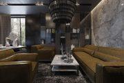 Фото 35 Черный потолок в квартире: 80 нестандартных и стильных реализаций