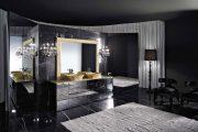 Фото 39 Черный потолок в квартире: 80 нестандартных и стильных реализаций