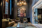 Фото 9 Черный потолок в квартире: 80 нестандартных и стильных реализаций