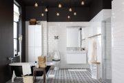 Фото 41 Черный потолок в квартире: 80 нестандартных и стильных реализаций