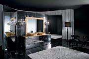 Фото 10 Черный потолок в квартире: 80 нестандартных и стильных реализаций