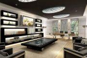 Фото 52 Черный потолок в квартире: 80 нестандартных и стильных реализаций