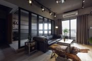 Фото 59 Черный потолок в квартире: 80 нестандартных и стильных реализаций