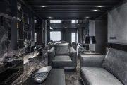 Фото 61 Черный потолок в квартире: 80 нестандартных и стильных реализаций
