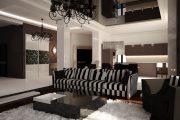 Фото 13 Черный потолок в квартире: 80 нестандартных и стильных реализаций