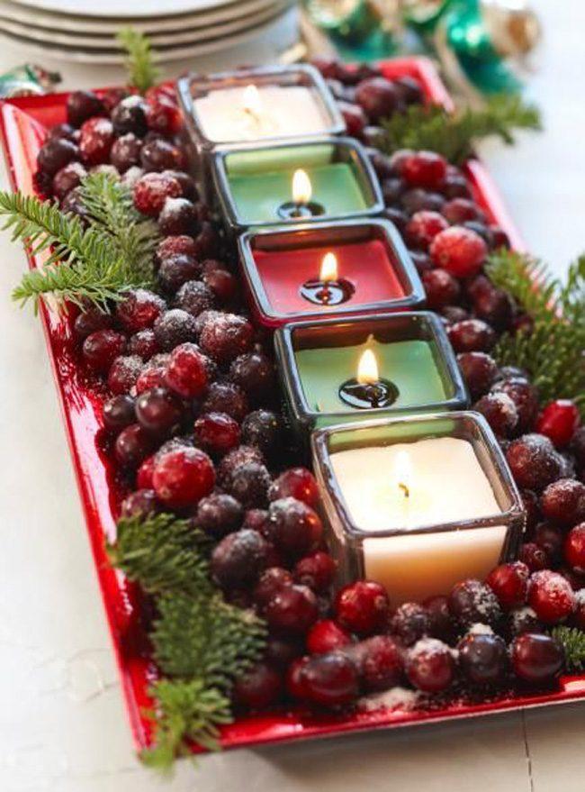 Одним из главных украшений новогоднего стола являются свечи