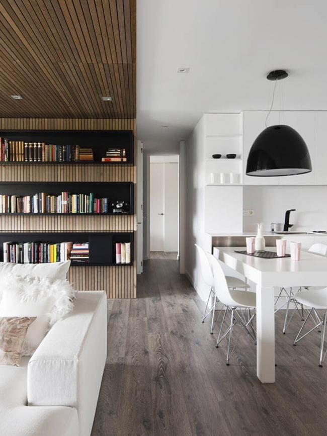 После правильного исполнения всех строительных работ вы сможете наслаждаться теплотой и эстетической красотой интерьера в вашем доме