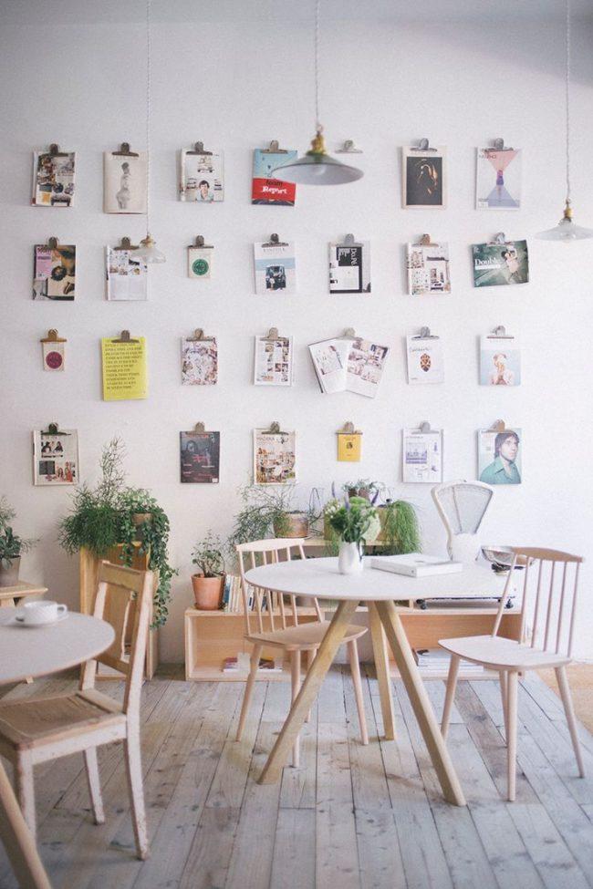 Скандинавский стиль в оформлении кофейни