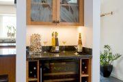 Фото 16 Домашний мини-бар: 80 лучших интерьерных идей для создания небольшой винотеки