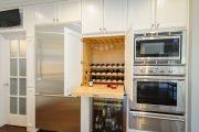 Фото 17 Домашний мини-бар: 80 лучших интерьерных идей для создания небольшой винотеки