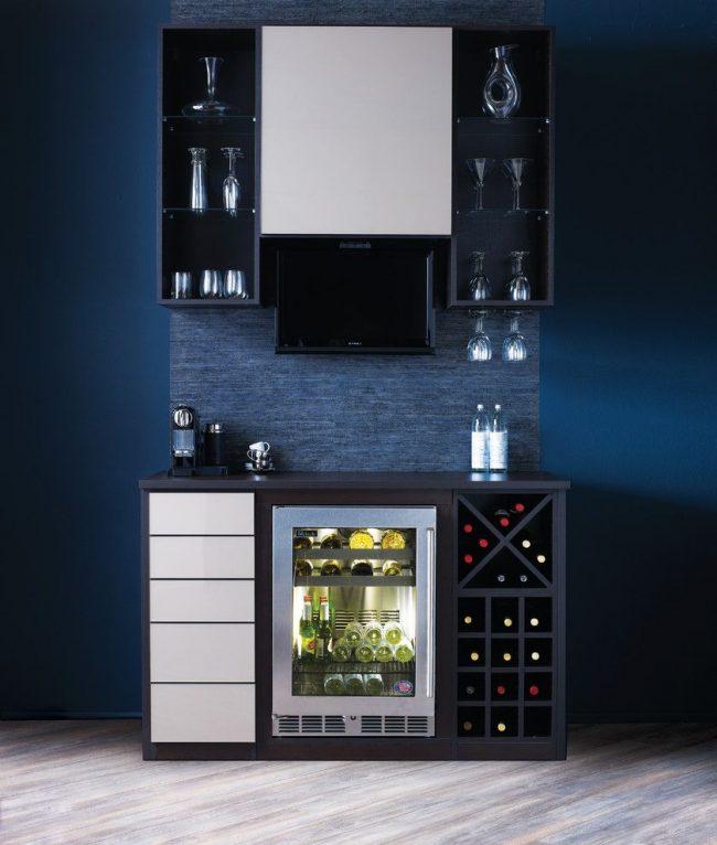 Стильный домашний мини-бар