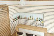 Фото 20 Домашний мини-бар: 80 лучших интерьерных идей для создания небольшой винотеки