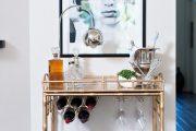 Фото 44 Домашний мини-бар: 80 лучших интерьерных идей для создания небольшой винотеки