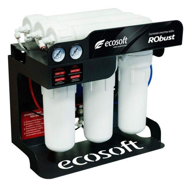 Система обратного осмоса Экософт RObust