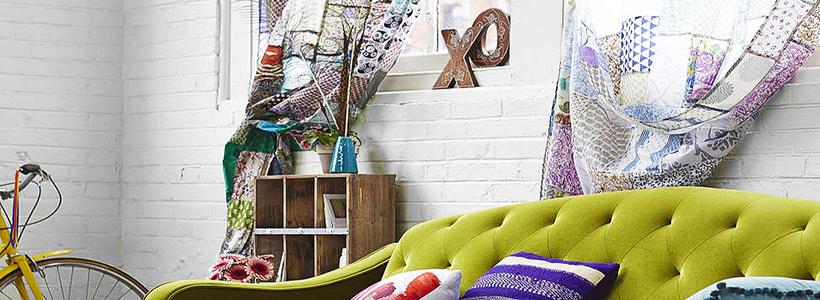 Шторы в стиле пэчворк: 70+ уютных идей для дома и как сшить своими руками