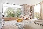 Фото 4 Подоконник-диван: 80 комфортных идей, которые способны преобразить любой интерьер