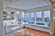Фото 10 Подоконник-диван: 80 комфортных идей, которые способны преобразить любой интерьер