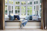 Фото 30 Подоконник-диван: 80 комфортных идей, которые способны преобразить любой интерьер