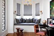 Фото 38 Подоконник-диван: 80 комфортных идей, которые способны преобразить любой интерьер