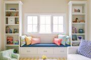 Фото 39 Подоконник-диван: 80 комфортных идей, которые способны преобразить любой интерьер