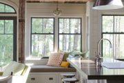 Фото 42 Подоконник-диван: 80 комфортных идей, которые способны преобразить любой интерьер