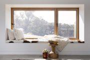 Фото 2 Подоконник-диван: 80 комфортных идей, которые способны преобразить любой интерьер