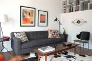 Фото 3 Прямые раскладные диваны на каждый день: 75 бескомпромиссно комфортных вариантов