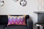 Фото 15 Прямые раскладные диваны на каждый день: 75 бескомпромиссно комфортных вариантов