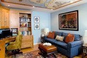 Фото 19 Прямые раскладные диваны на каждый день: 75 бескомпромиссно комфортных вариантов