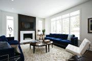 Фото 21 Прямые раскладные диваны на каждый день: 75 бескомпромиссно комфортных вариантов