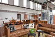 Фото 4 Прямые раскладные диваны на каждый день: 75 бескомпромиссно комфортных вариантов