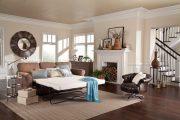 Фото 33 Прямые раскладные диваны на каждый день: 75 бескомпромиссно комфортных вариантов