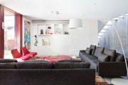 Фото 36 Прямые раскладные диваны на каждый день: 75 бескомпромиссно комфортных вариантов