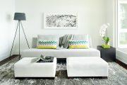 Фото 40 Прямые раскладные диваны на каждый день: 75 бескомпромиссно комфортных вариантов