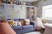 Фото 41 Прямые раскладные диваны на каждый день: 75 бескомпромиссно комфортных вариантов