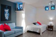 Фото 43 Прямые раскладные диваны на каждый день: 75 бескомпромиссно комфортных вариантов