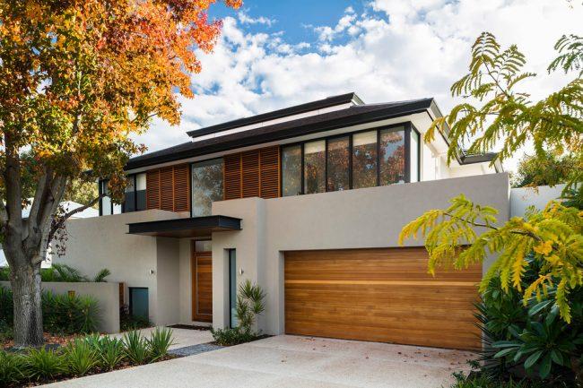 Красивый загородный дом в современном стиле