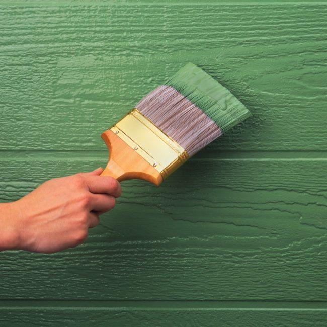 Резиновой краской можно покрывать практически любые поверхности