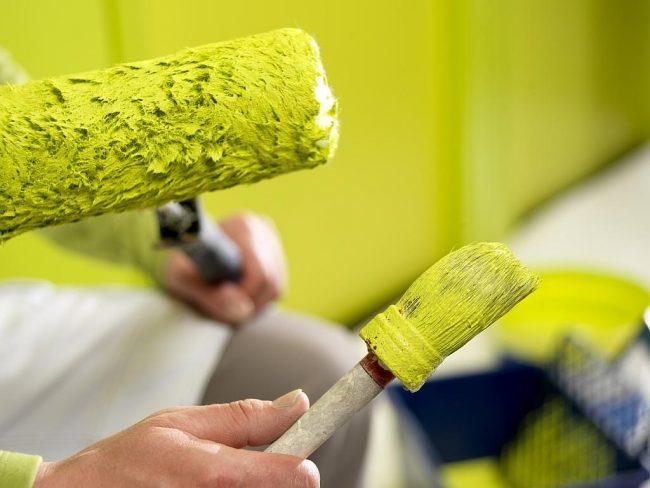 Чтобы краска хорошо прослужила, необходимо придерживаться технологий ее нанесения