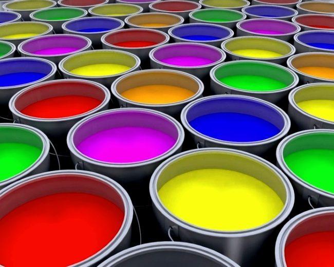 Выпускается резиновая краска по бетону в разных цветовых тонах