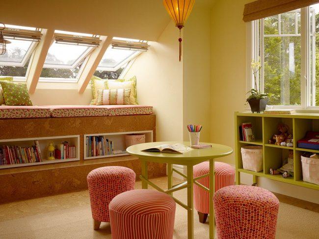 Окна-трансформеры - это удобный вариант для мансардного помещения