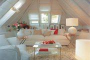 Фото 32 Шторы на мансардные окна: 70 трендовых вариантов, которые преобразят любой интерьер