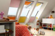 Фото 36 Шторы на мансардные окна: 70 трендовых вариантов, которые преобразят любой интерьер