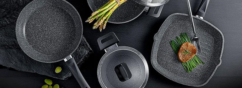 Сковорода с каменным покрытием: преимущества, критерии выбора и советы по уходу