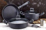 Фото 8 Сковорода с каменным покрытием: преимущества, критерии выбора и советы по уходу